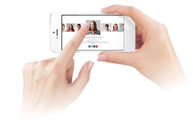 ناوبری لمسی سوایپ در مستر اسلایدر برای وردپرس