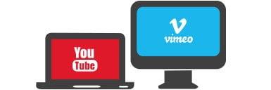 قرار دادن ویدئو از یوتوب و ویمئو در اسلایدشو