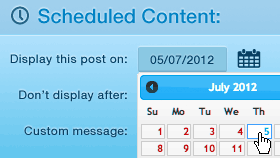 افزونه Schedule Selected Content - زمانبندی حرفه ای مطالب