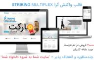 دانلود قالب Striking MultiFlex برای وردپرس - چندمنظوره