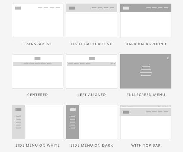 تغییر حالت سربرگ و منو در قالب HTML ریتم