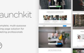 دانلود Launchkit - قالب HTML صفحه فرود