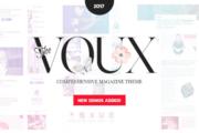 دانلود قالب مجله The Voux برای وردپرس