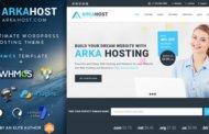 دانلود قالب هاستینگ Arka Host برای وردپرس