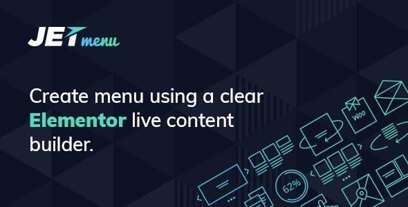 آشنایی باJetMenu - Mega Menu for Elementor Page Builder