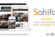 دانلود قالب خبری Sahifa برای وردپرس