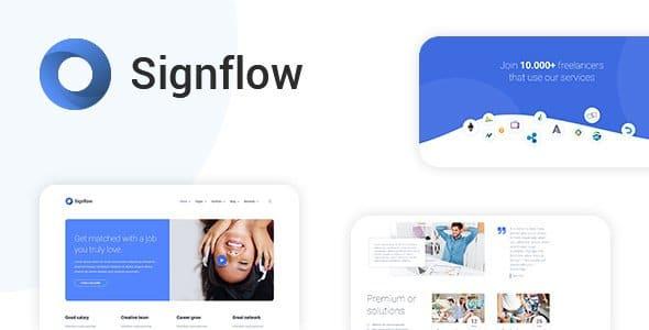 دانلود قالب Signflow برای وردپرس