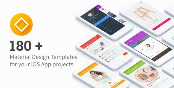 دانلود UI Templates for IOS - تمپلیت رابط کاربری اپلیکیشن iOS