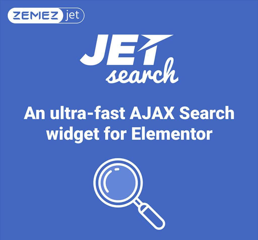 افزونه JetSearch برای المنتور
