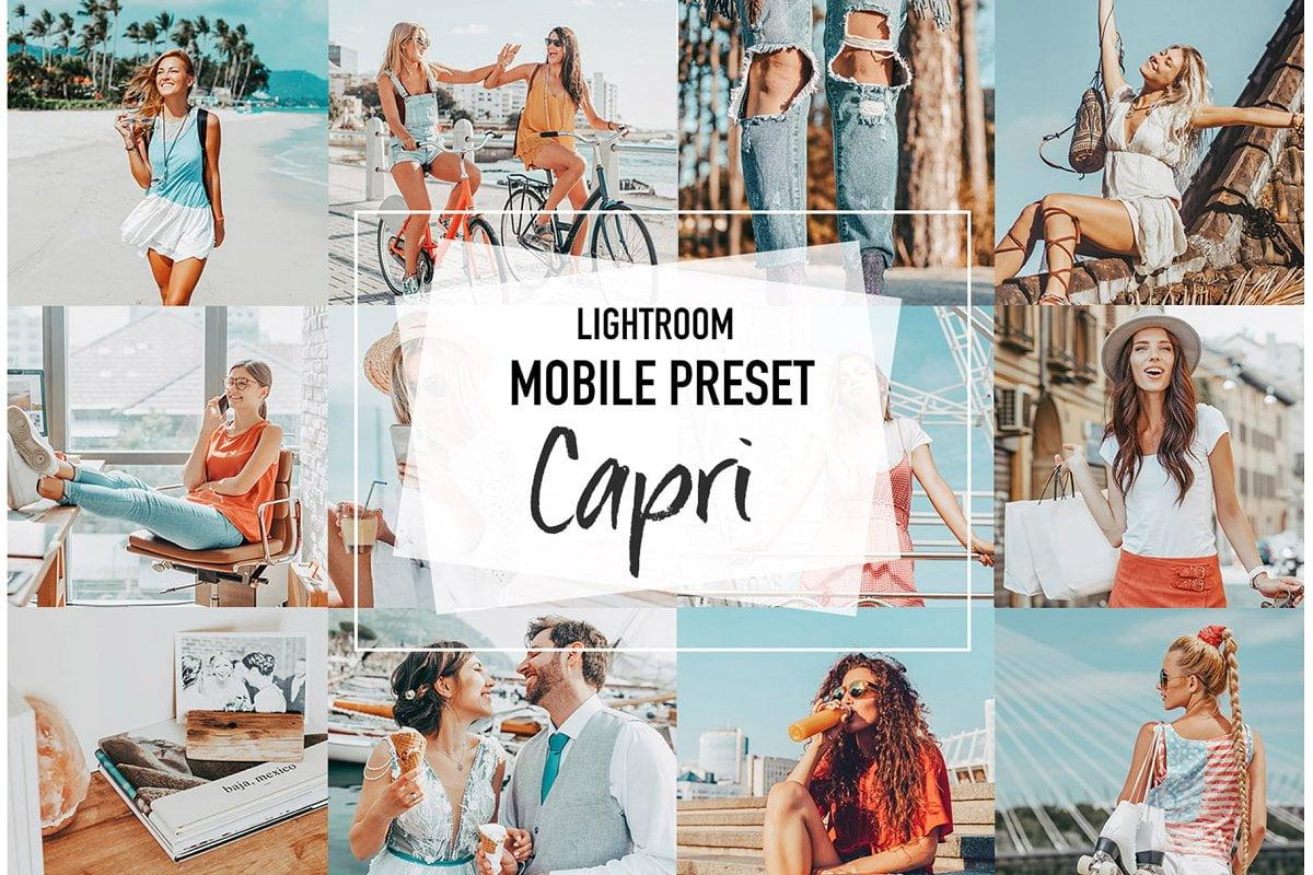 دانلود CAPRI 4 Lightroom Mobile presets - پریست لایتروم موبایل