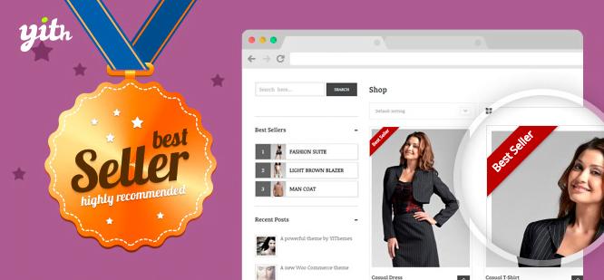 دانلود افزونه YITH WooCommerce Best Sellers Premium
