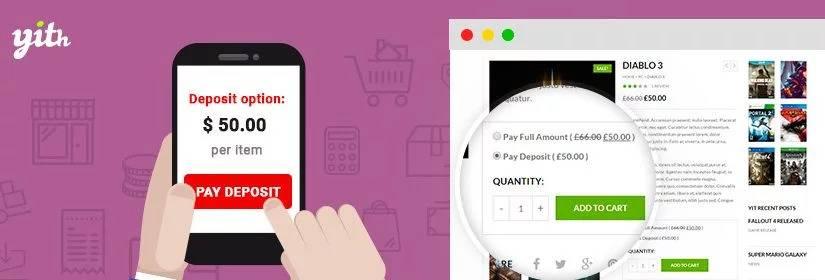دانلود افزونه YITH WooCommerce Deposits and Down Payments Premium