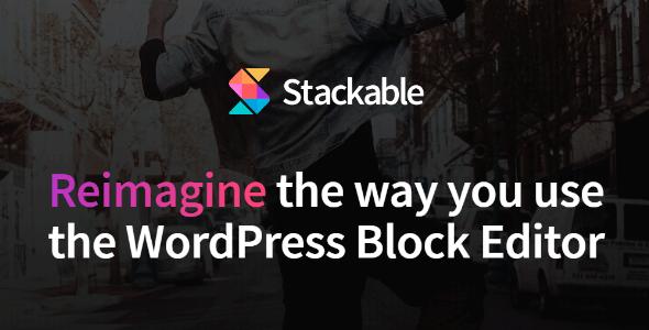 دانلود افزونه stackable gutenberg blocks pro برای وردپرس