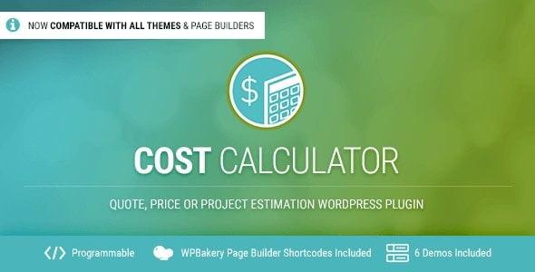 دانلود افزونه Cost Calculator برای وردپرس