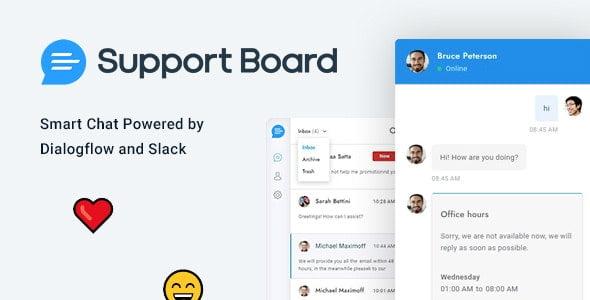 دانلود اسکریپت Support Board