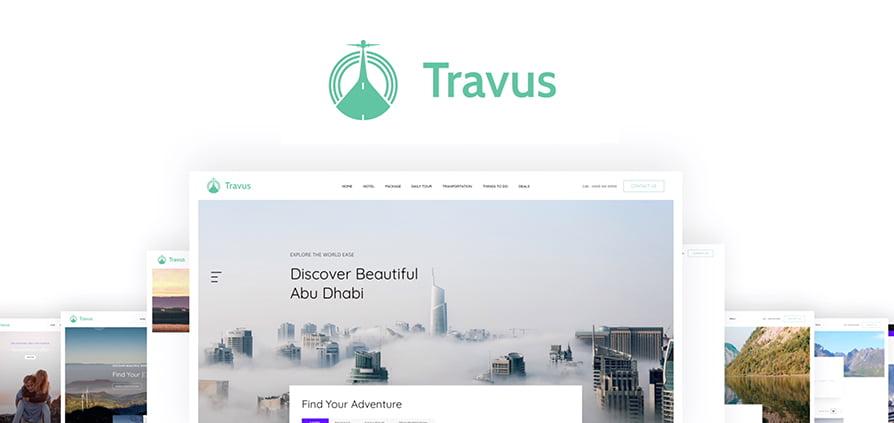 دانلود قالب Travus برای جوملا